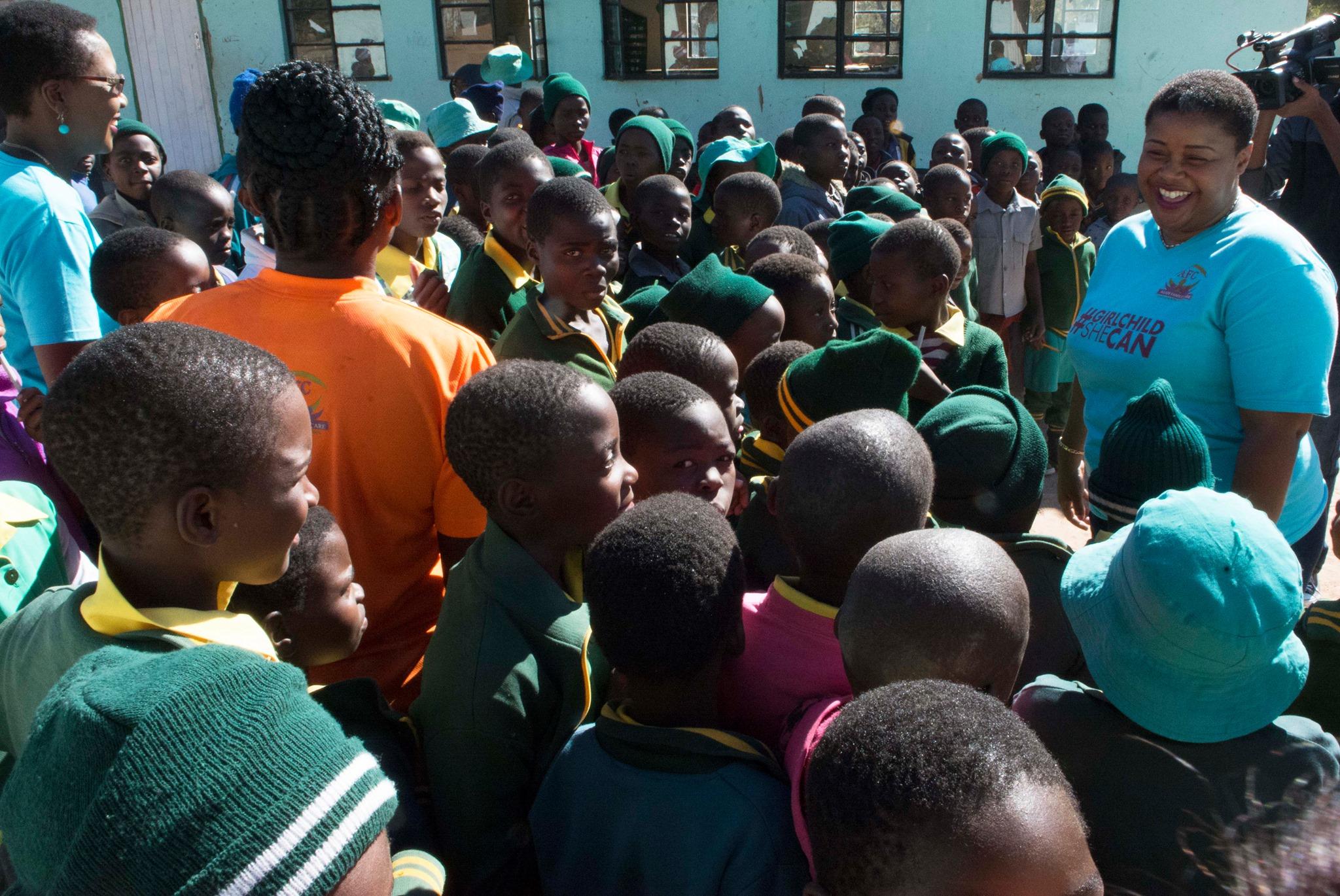 #GirlChildSheCanCampaign Bulawayo Outreach