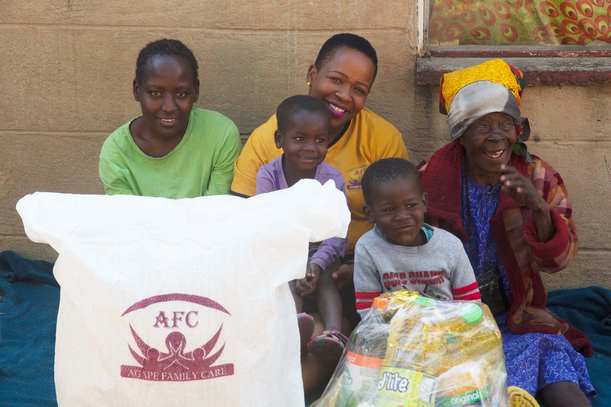 AFC Livelihoods Beneficiary; Gogo Molly Zariro